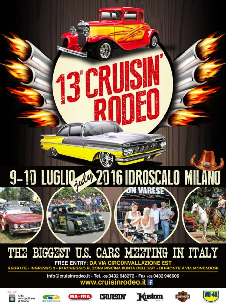 Mustang Register of Italy presents Cruisin Rodeo 2016