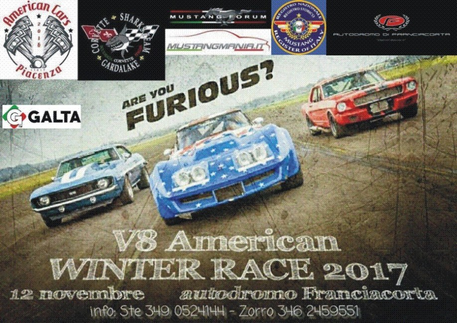 Mustang Register of Italy - Winter Race 2017
